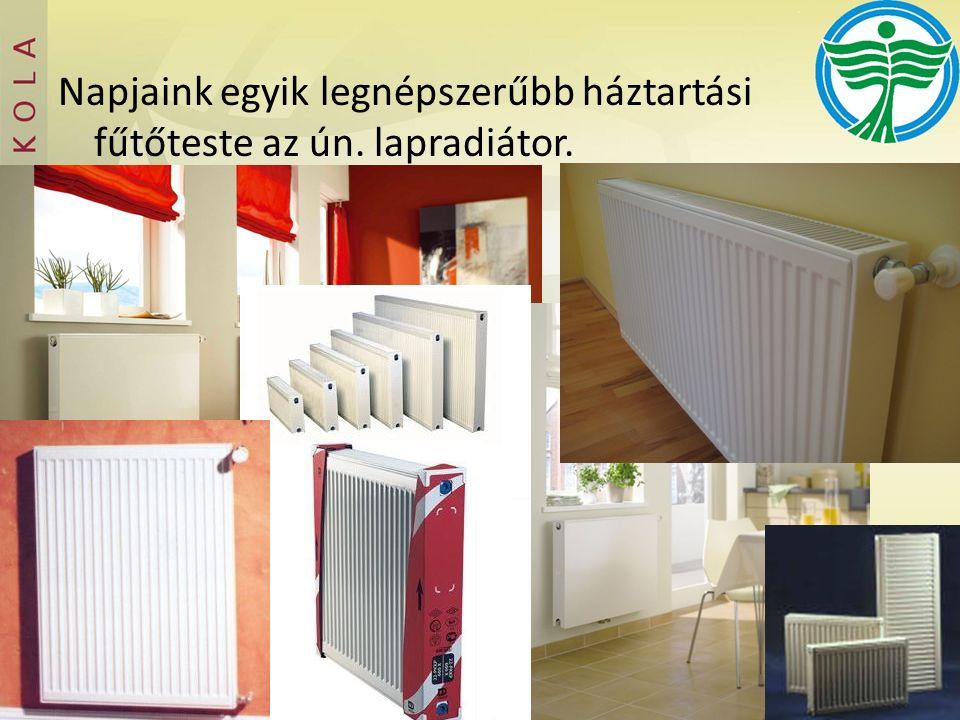 Napjaink egyik legnépszerűbb háztartási fűtőteste az ún. lapradiátor.