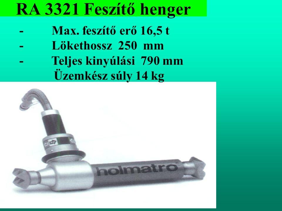 RA 3321 Feszítő henger - Max.