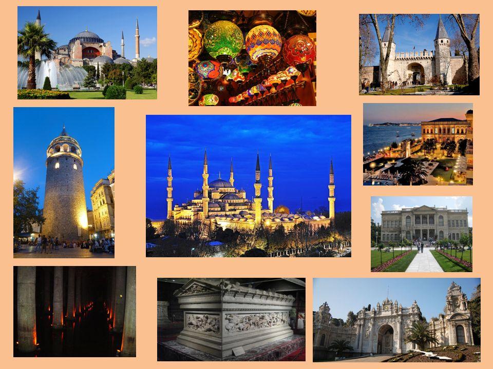 Földrajzi helyzete Isztambul több mint 13 milliós lakosságával Törökország legnagyobb városa Annak kulturális művészeti és gazdasági központja, illetve 1923-ig fővárosa, jelenleg Istanbul tartomány székhelye.