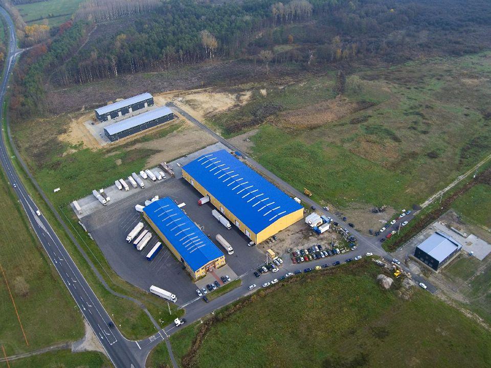 Meglévő kapacitások Existing assets 1.200 m2 1.600 m2 4.000 m2