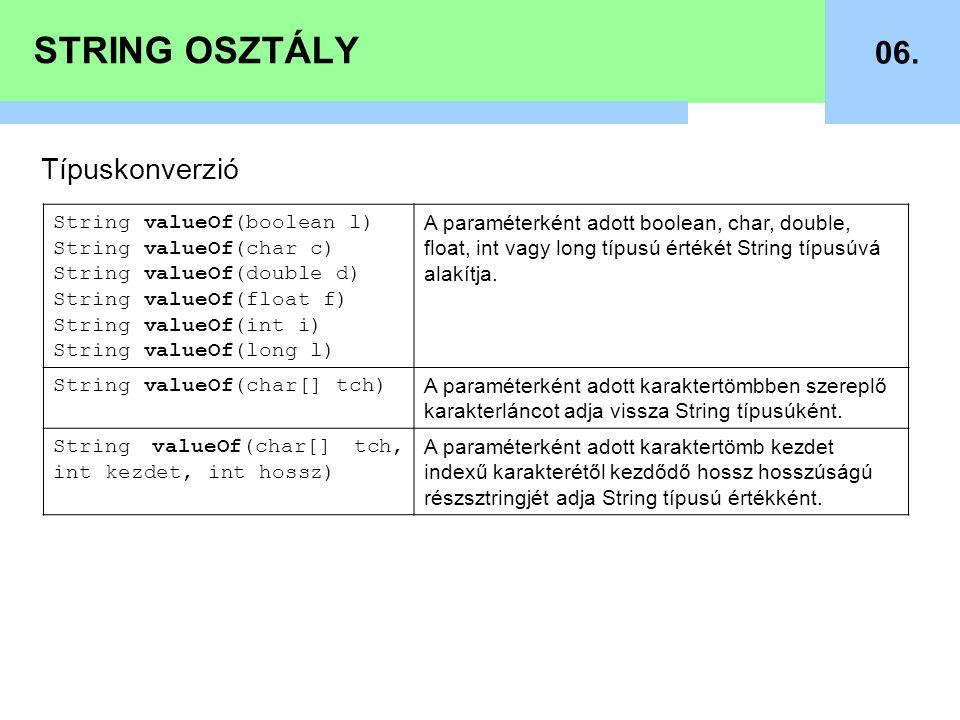 STRING OSZTÁLY 07.