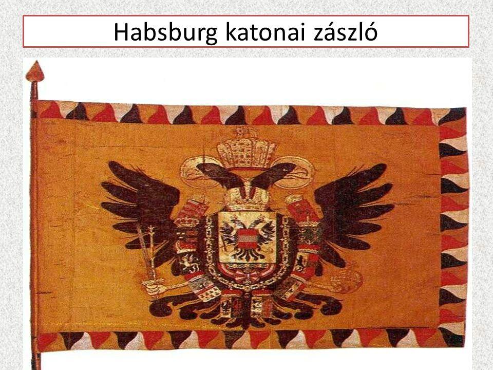 Habsburg katonai zászló