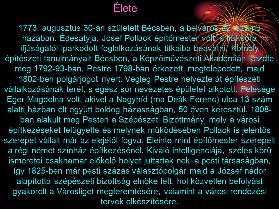1773.augusztus 30-án született Bécsben, a belváros 22.