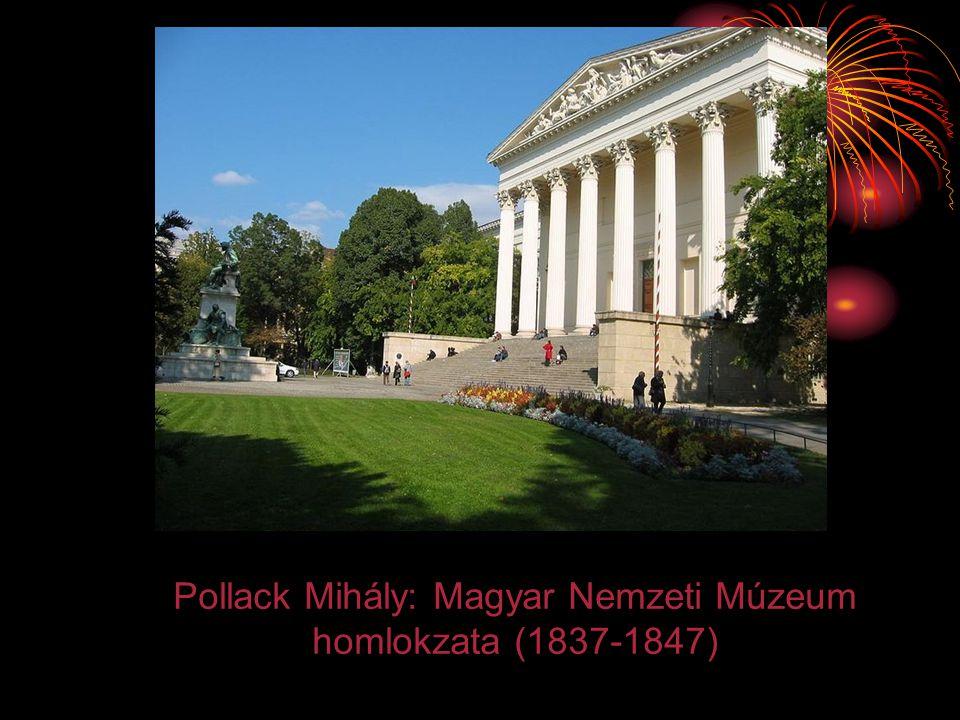 Pollack Mihály: Magyar Nemzeti Múzeum homlokzata (1837-1847)