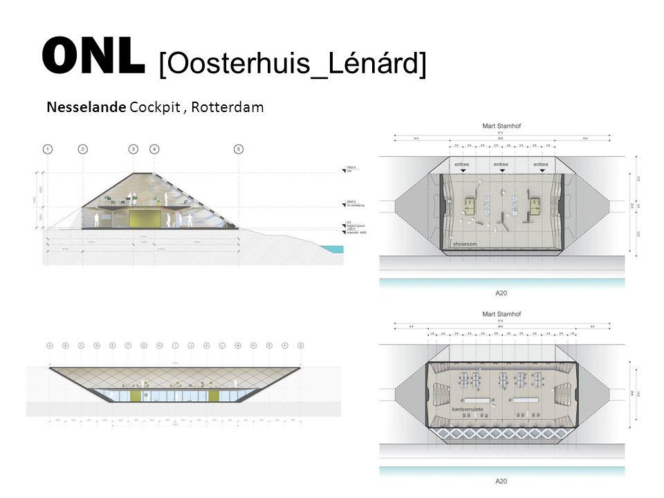 ONL [Oosterhuis_Lénárd] Nesselande Cockpit, Rotterdam
