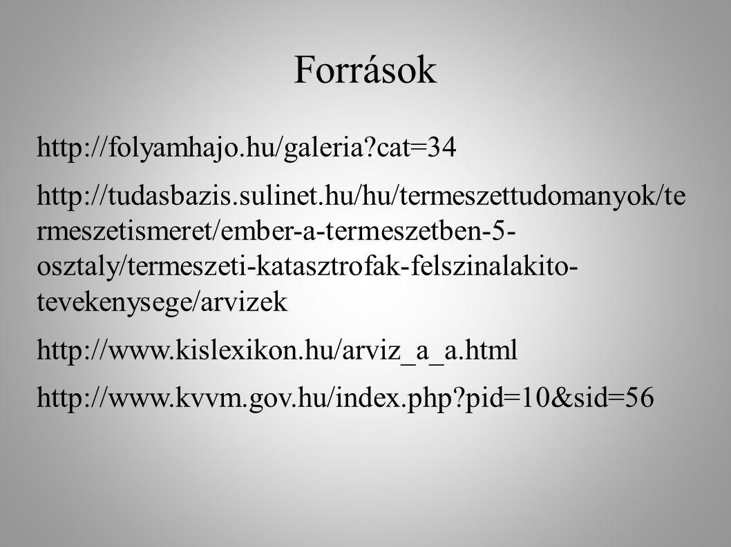 Források http://folyamhajo.hu/galeria?cat=34 http://tudasbazis.sulinet.hu/hu/termeszettudomanyok/te rmeszetismeret/ember-a-termeszetben-5- osztaly/ter