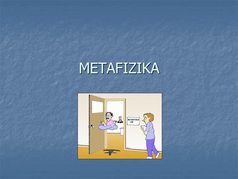 Mi a metafizika.
