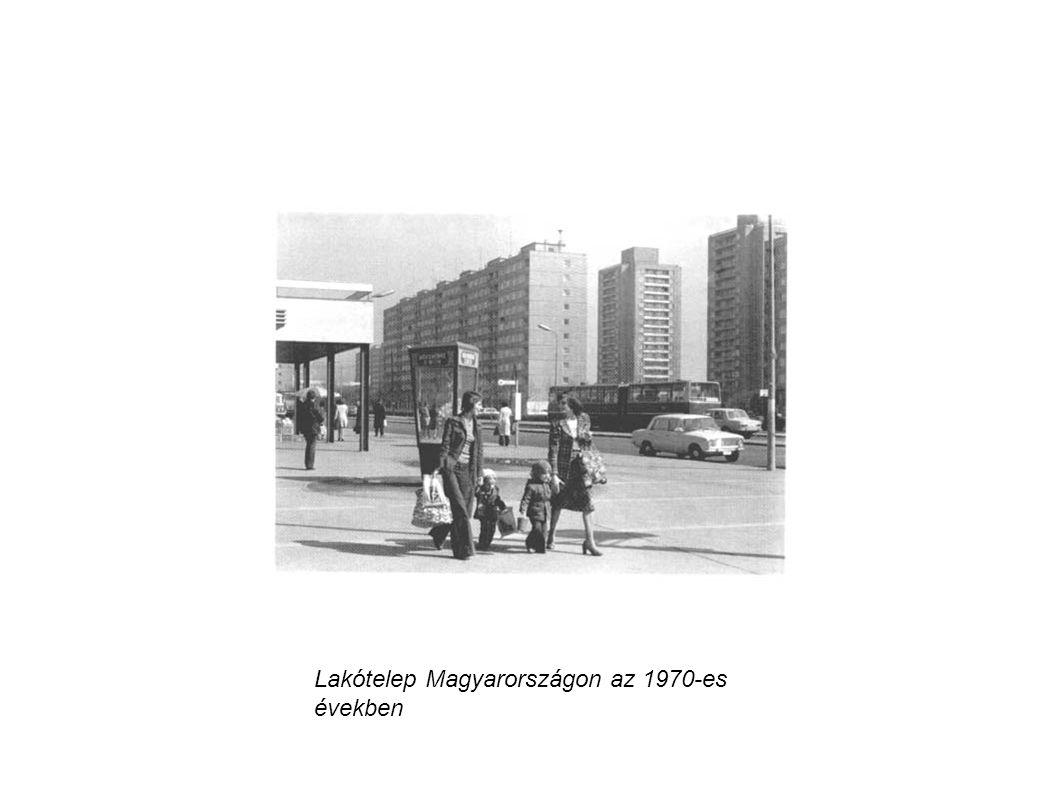 Lakótelep Magyarországon az 1970-es években