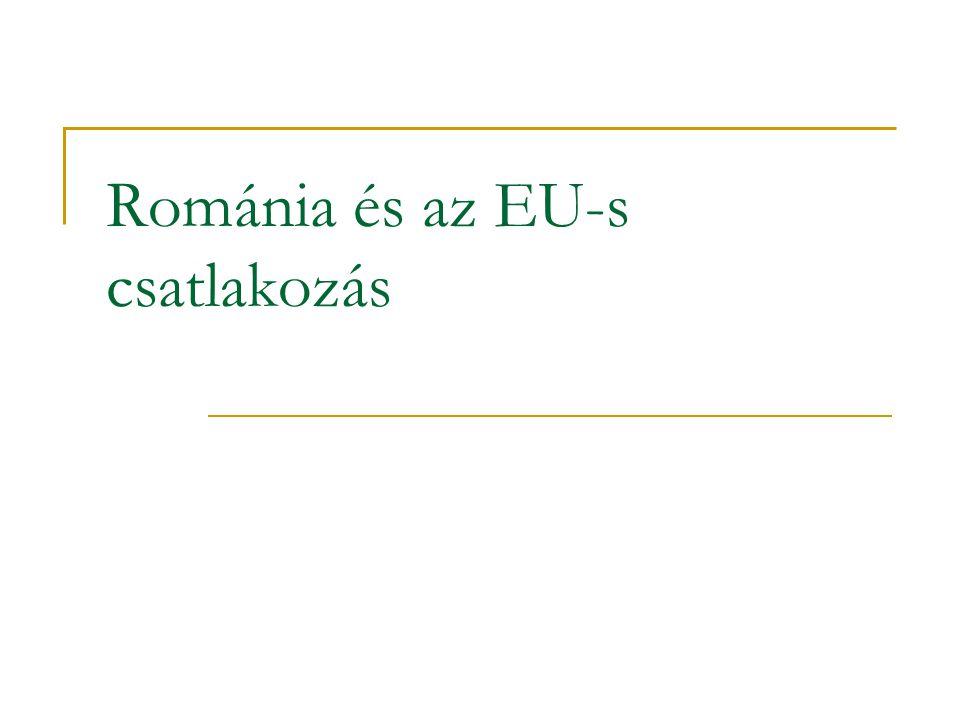Románia és az EU-s csatlakozás