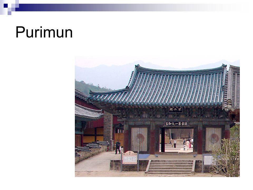 Haein-sa a nyugodt tenger tükröződése Mester Sung-un és I-chong csodatétele (a beteg királynő és a fa) 802.
