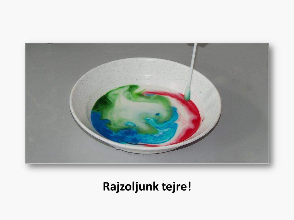 Rajzoljunk tejre!