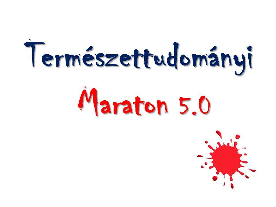 Természettudományi Maraton 5.0 Maraton 5.0
