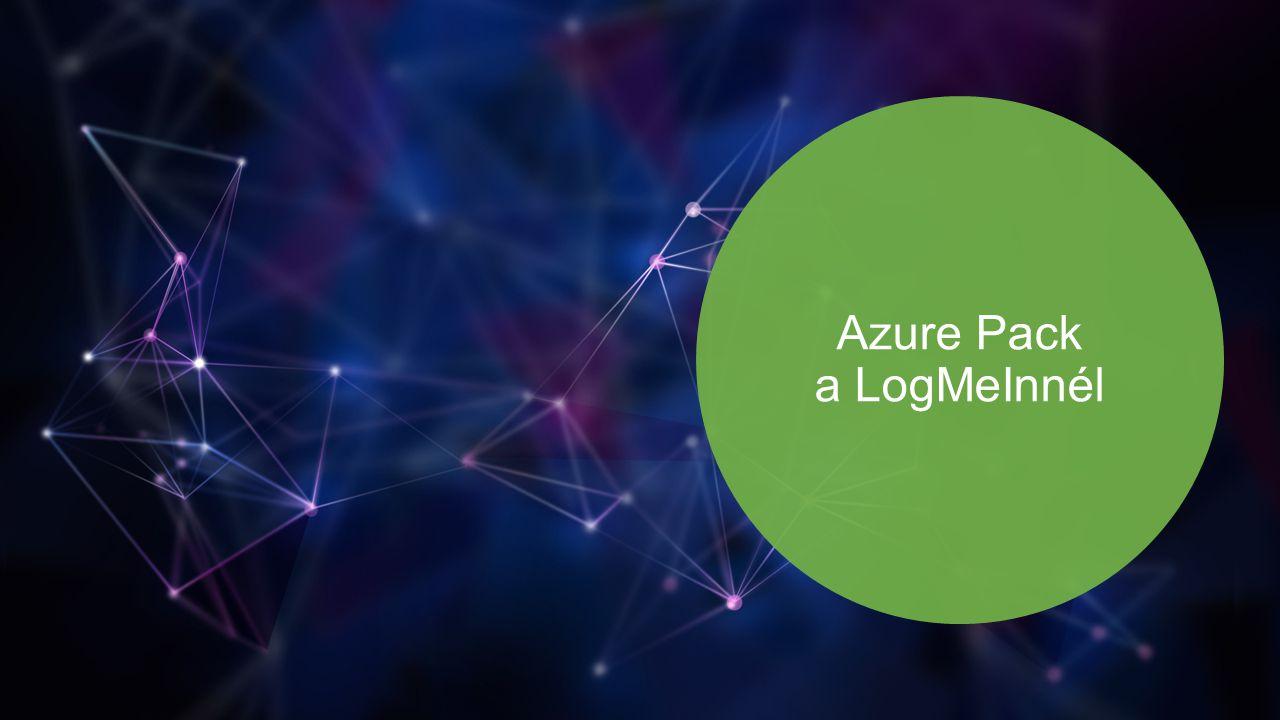 Azure Pack a LogMeInnél