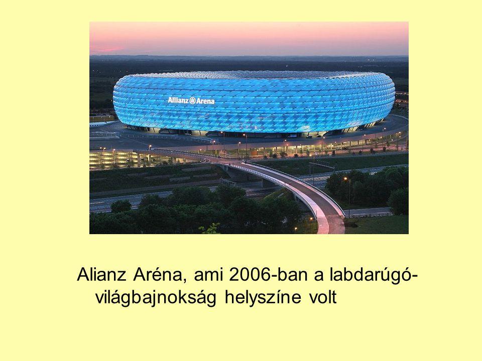 Alianz Aréna, ami 2006-ban a labdarúgó- világbajnokság helyszíne volt