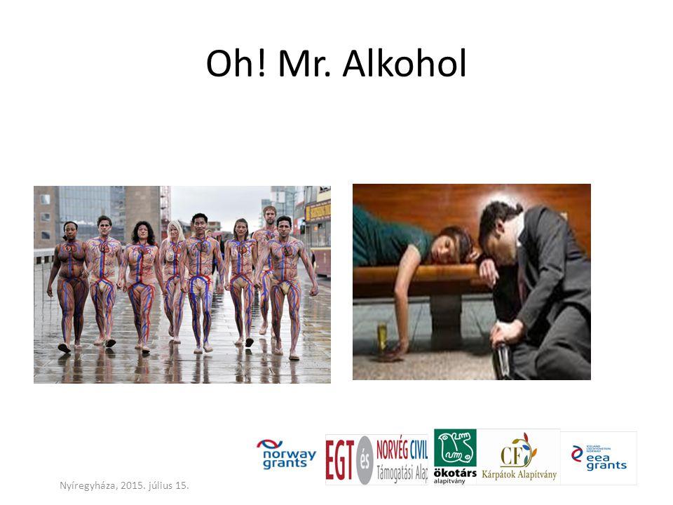 Az alkoholfogyasztás mint betegség ábrázolása (Rush) Nyíregyháza, 2015. július 15.