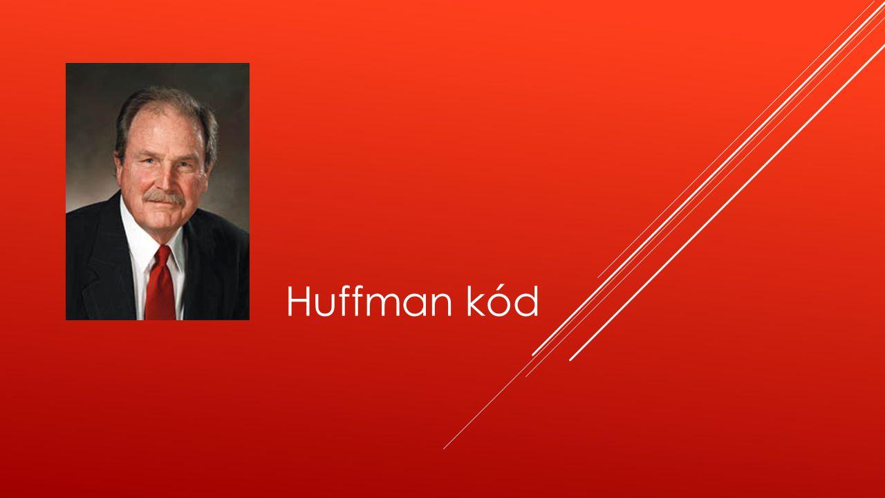 Huffman kód