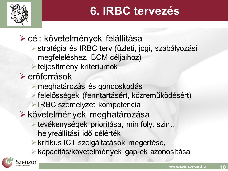 10 www.szenzor-gm.hu 6.