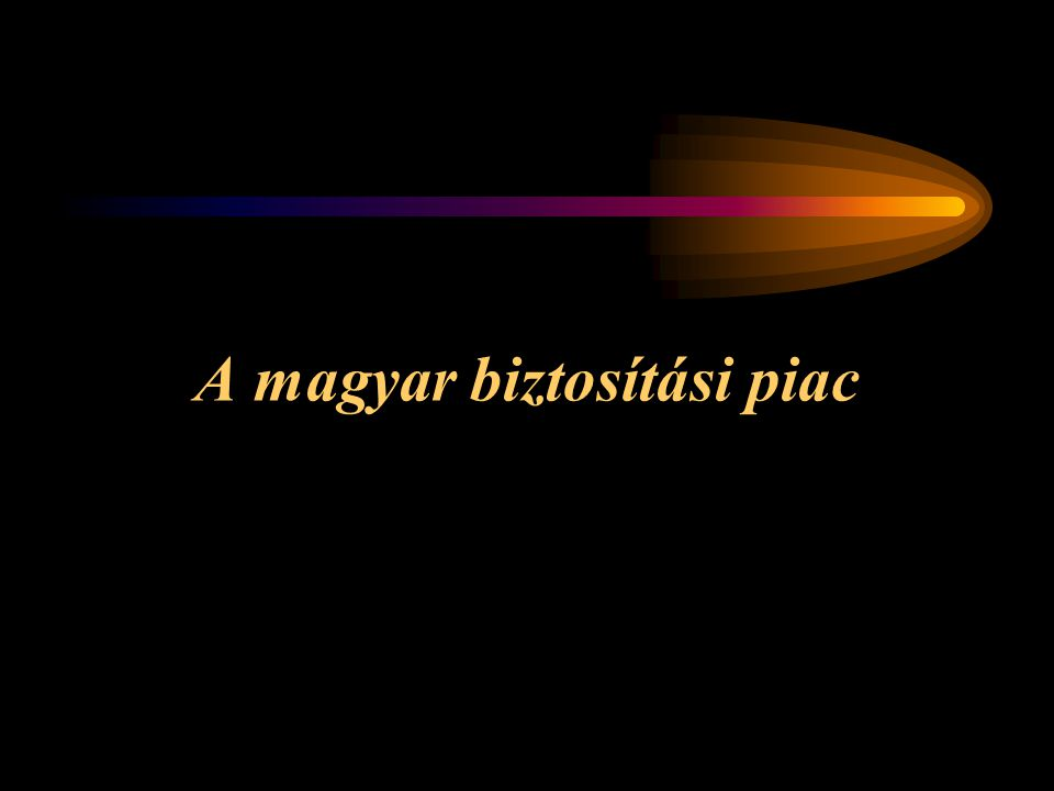 A magyar biztosítási piac