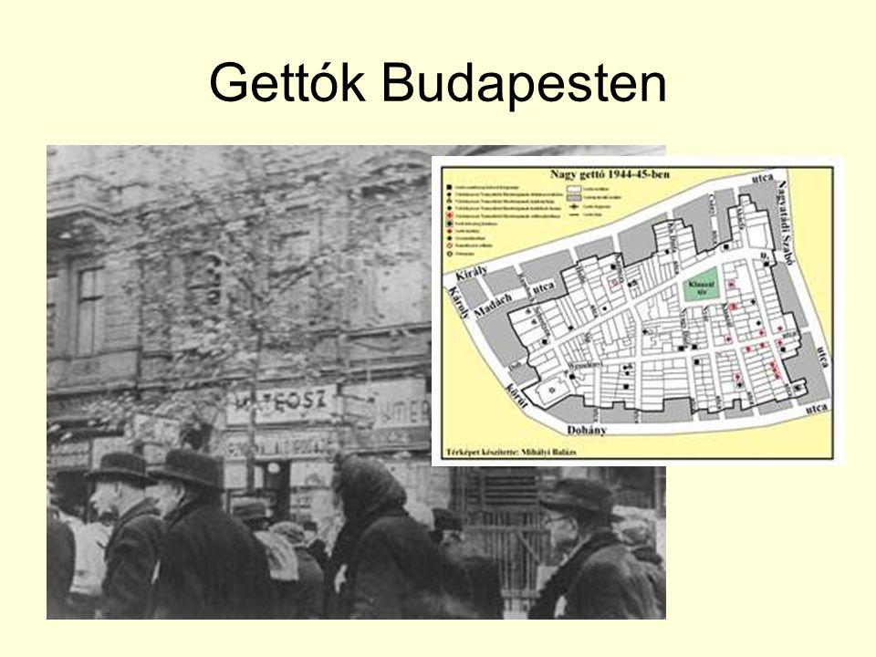 Gettók Budapesten