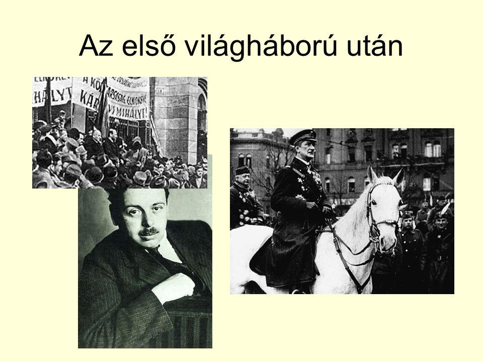 Az első világháború után