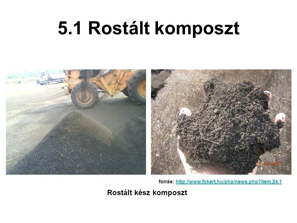5.1 Rostált komposzt Rostált kész komposzt forrás: http://www.fokert.hu/php/news.php?item.24.1http://www.fokert.hu/php/news.php?item.24.1