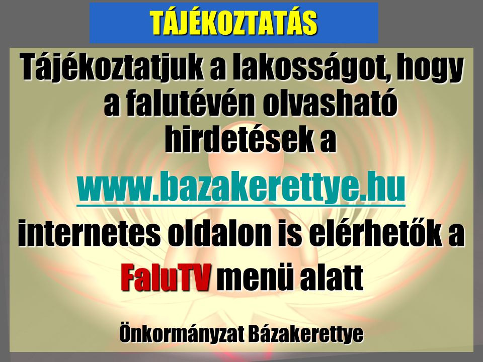 ÉRTESÍTÉS Értesítjük a tisztelt lakosságot, hogy megnyitottuk temetkezési szolgáltatásunkat Letenye, Kárpáti u.