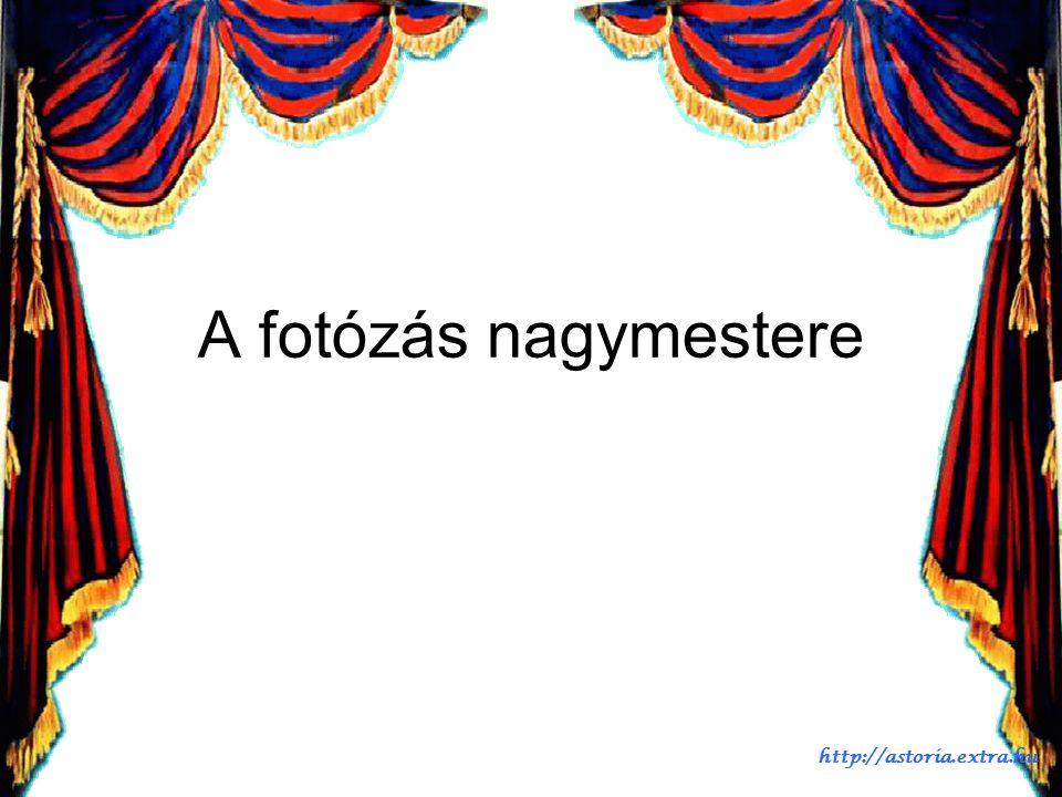 Most: 2009. augusztus 29.van A pontos id ő : 08:48 Automatikus diaváltás A hangszórókat kérem bekapcsolni http://astoria.extra.hu