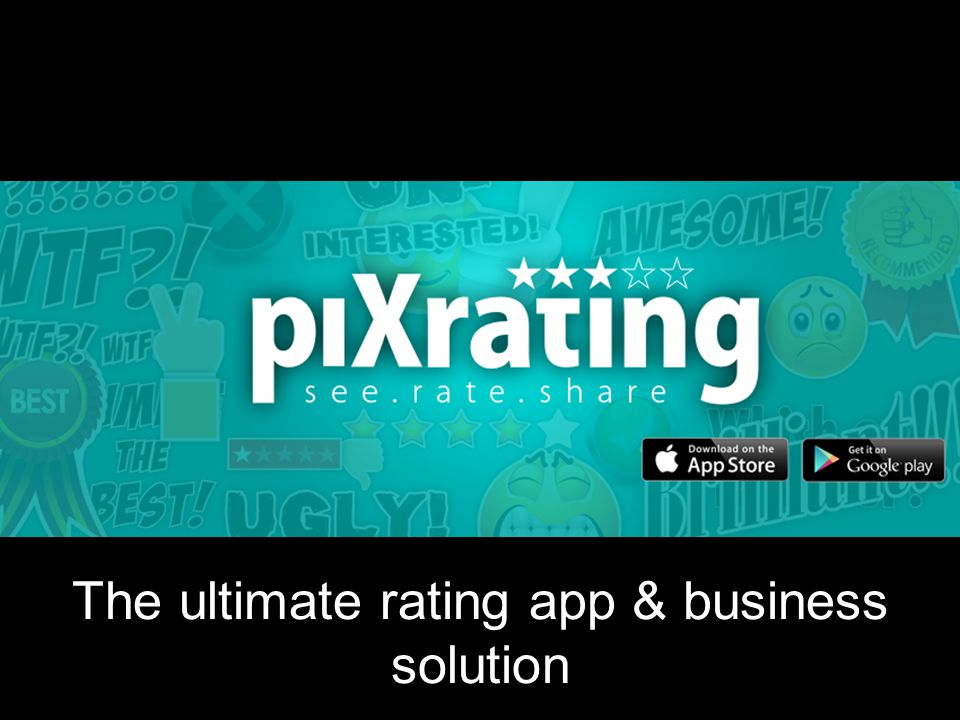 The ultimate rating app & business solution