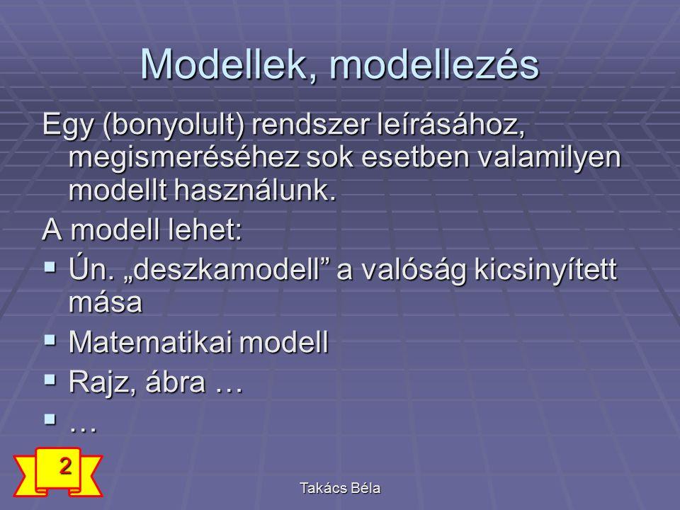 Miért jó ha modellt használunk.