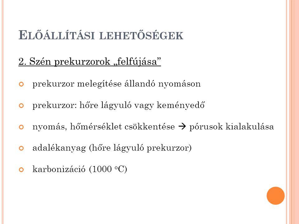 E LŐÁLLÍTÁSI LEHETŐSÉGEK 3.
