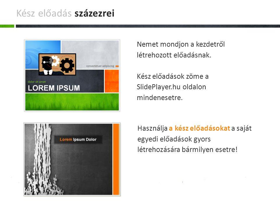 A számítógépen nincs Power Point.Van SlidePlayer.hu és semmi másra nem lesz szüksége.