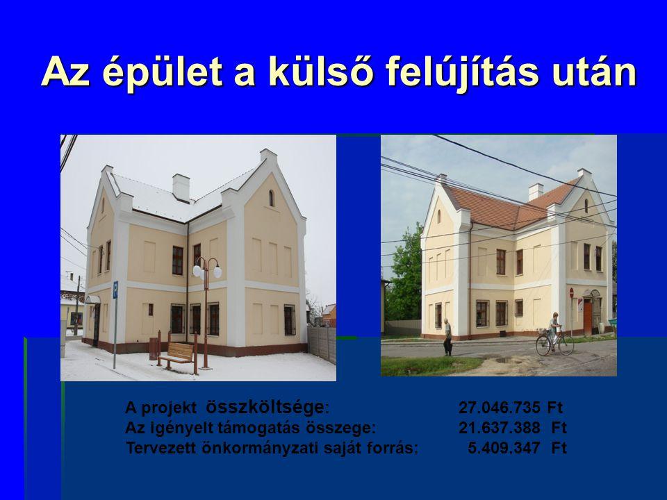 Terveink   Az épület 2011.