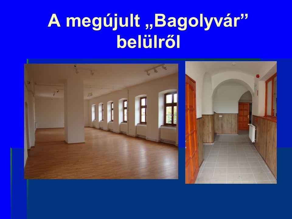 """A megújult """"Bagolyvár"""" belülről"""