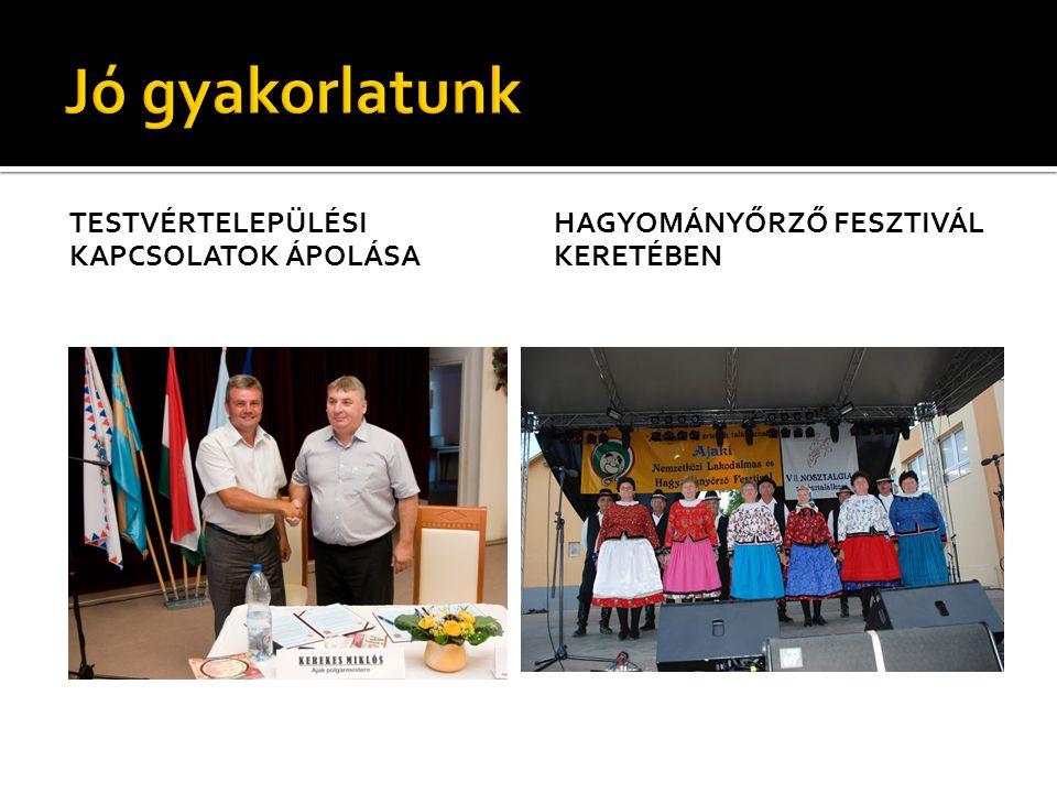  Aheloy – Bulgária  Császlóc – Ukrajna  Farkaslaka – Erdély  Hyzne – Lengyelország  Nagydobrony – Ukrajna  Tiszacsernyő – Szlovákia  Verbiázs- Ukrajna
