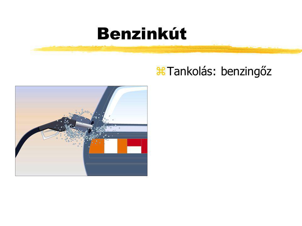 Benzinkút z Tankolás: benzingőz