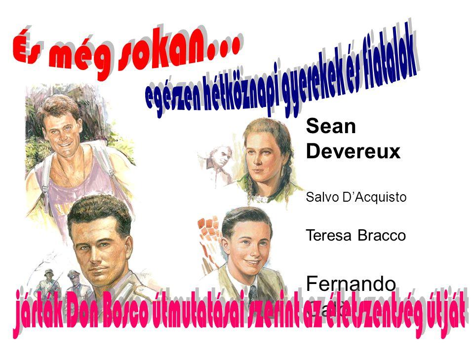 Sean Devereux Salvo D'Acquisto Teresa Bracco Fernando Calò