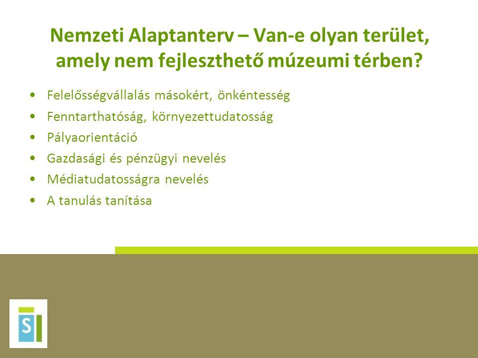 Nemzeti Alaptanterv – Van-e olyan terület, amely nem fejleszthető múzeumi térben.