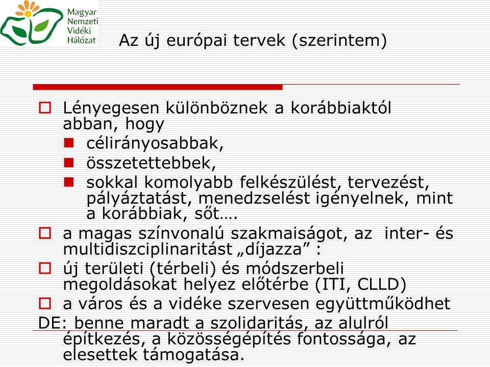 """A magyar vidéki jövő tervezhetőségének aktuális problémái  Nincs megfelelő """"tervezési pozíciója  Terület- és vidékfejlesztés  Város- és vidékfejlesztés  Közlekedés – és vidékfejlesztés stb."""