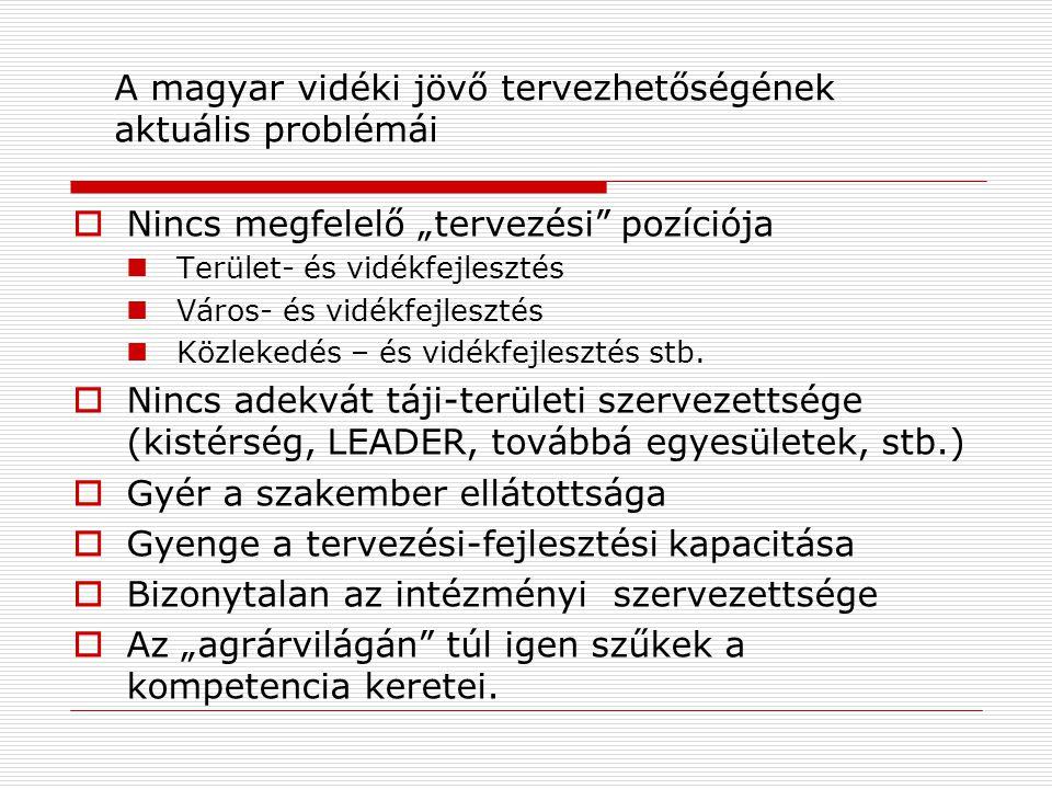Vitára ajánlom…  Foglaljunk állást a komplex, integrált táji-területi szemléletű, jórészt alulról építkező magyar vidékfejlesztés mellett.