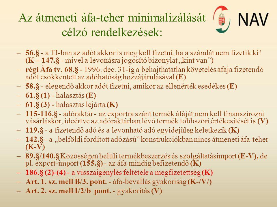 II.Végrehajtási rendelet •A TANÁCS 2011.