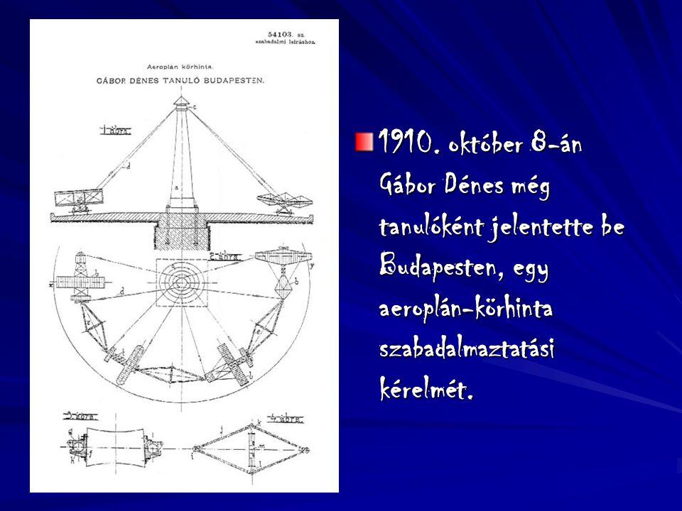 Élete 1924-Mérnöki diplomát szerez Berlinben. 1927-Doktori értekezést ír a katódsugárcsőről. 1947-a Holográfia felfedezése és elméletének kidolgozása.