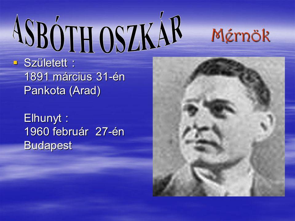 Biokémikus Született : 1893 szeptember 16-án Budapest Elhunyt : 1986 október 22-én Woods Hole (USA