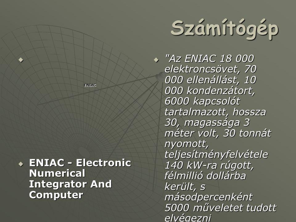 Matematikus  Született : 1903 december 28-án Budapest  Elhunyt : 1957 február 8-án Washington