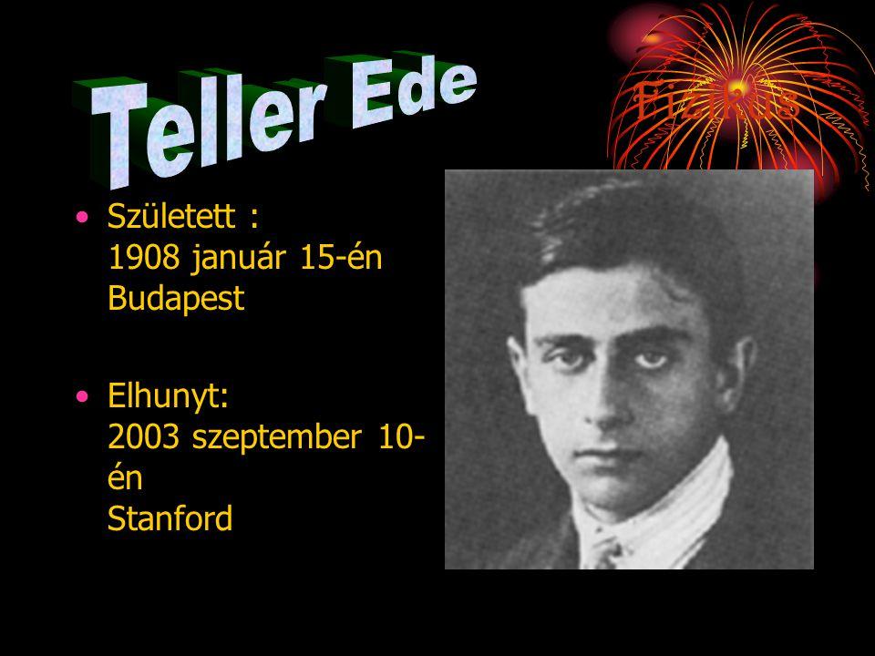 Élete •1922-Doktori disszertációját Laue (1914-ben kapott fizikai Nobel-díjat) irányításával a termodinamika tárgykörében írja meg. •1927-ben Einstein