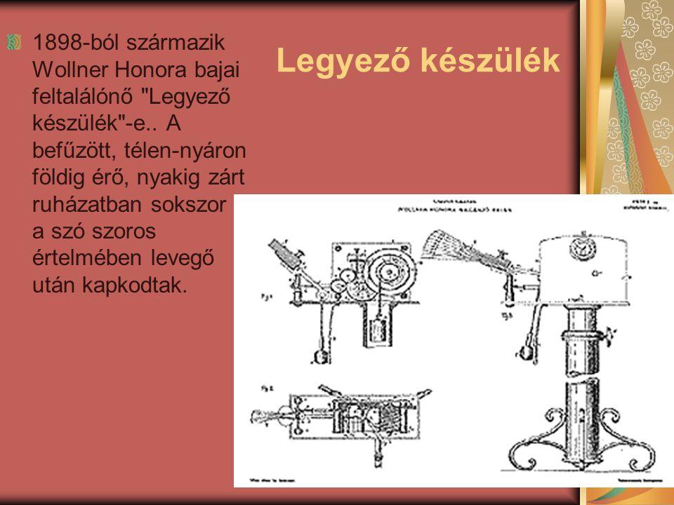 Mosógép Voyta Ilonától származik az egyik