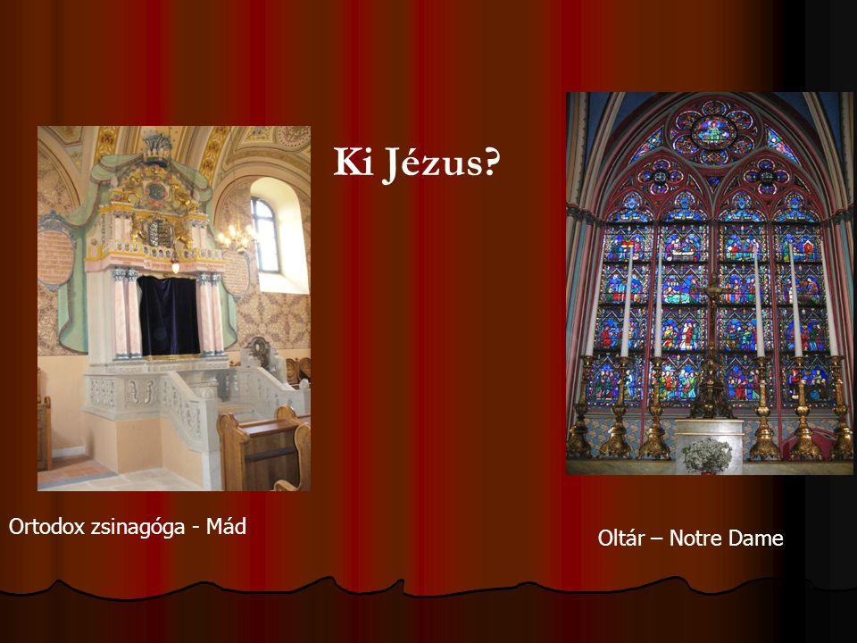Ki Jézus Ortodox zsinagóga - Mád Oltár – Notre Dame