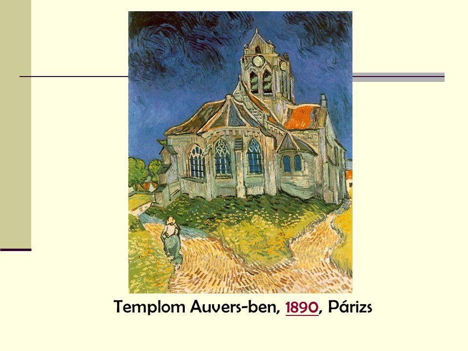 Templom Auvers-ben, 1890, Párizs1890