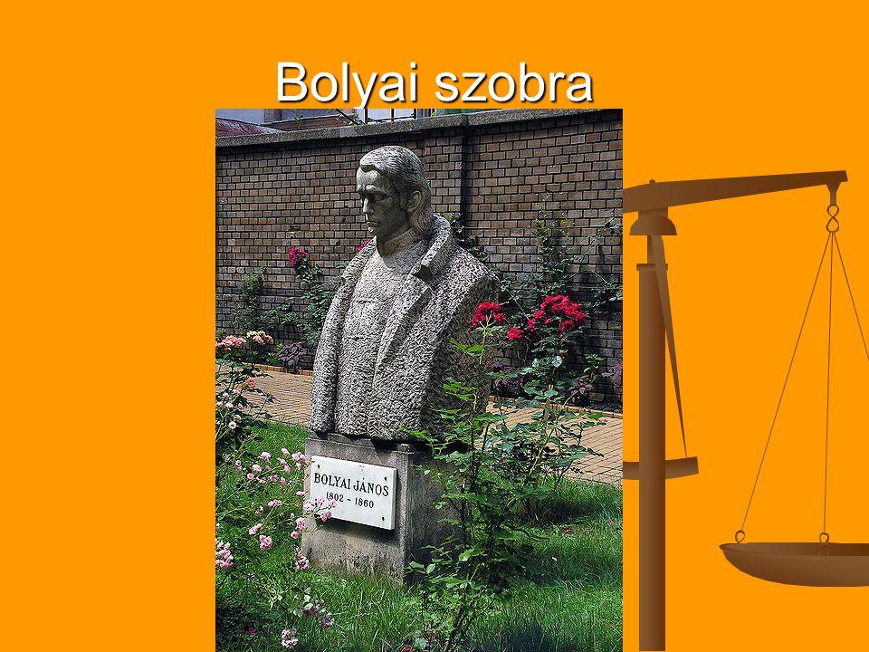 Bolyai szobra