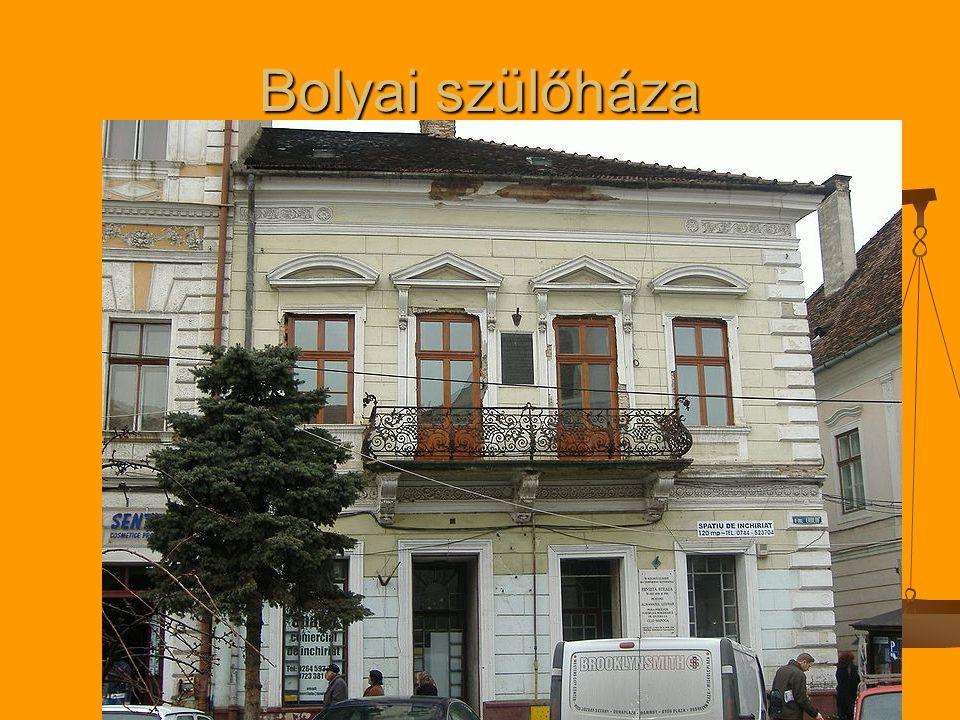 Bolyai szülőháza