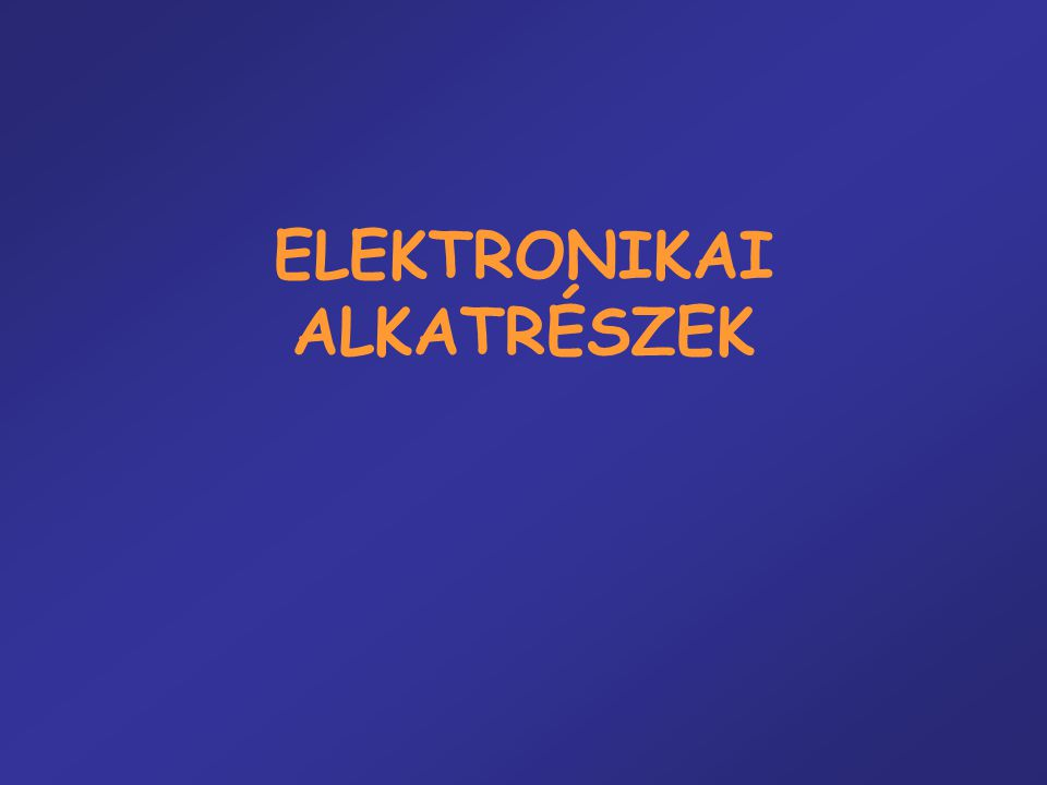 VEZETÉS VÁKUUMBAN (EMISSZIÓ) 2.